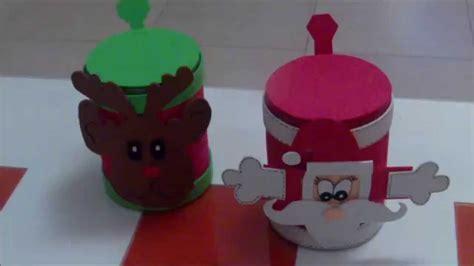 como hacer unos dulceros navide 241 os