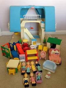 Vintage Little Tikes Dollhouse Furniture By