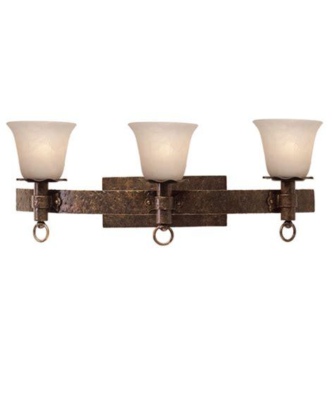 rustic vanity lighting