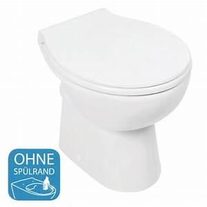 Stand Wc Mit Spülkasten Spülrandlos : stand wc ohne sp lrand pari soltar bad elegant ~ Frokenaadalensverden.com Haus und Dekorationen
