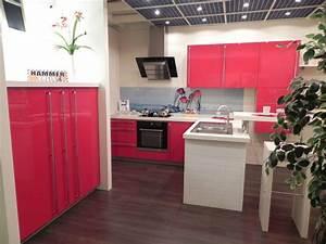 Hochglanz Küche Rot : nolte musterk che moderne k che rot hochglanz wei bartisch highboards anrichtenzeile ~ Sanjose-hotels-ca.com Haus und Dekorationen