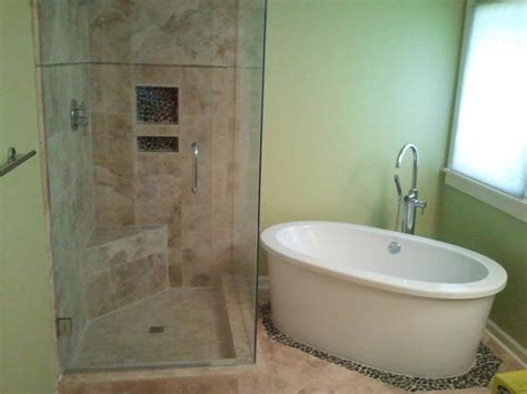 garden tub shower combo home design ideas and pictures lovely original 1024x768 1280x720 1280x768 1152x864 1280x960 size 1024x768 corner garden shower and stand alone tub