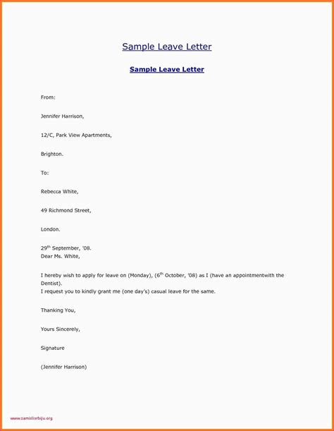 english leave letter  business flyer