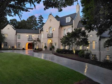 For Sale Atlanta by Mansions In Buckhead Atlanta Atlanta Mansions