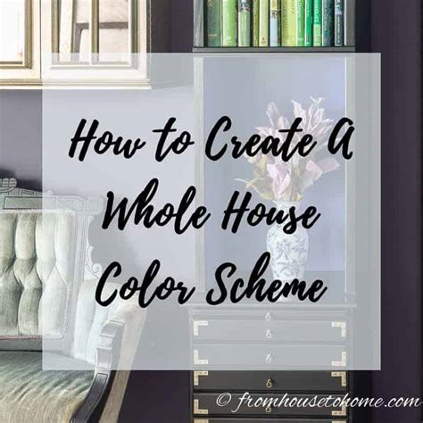 create   house color scheme    love