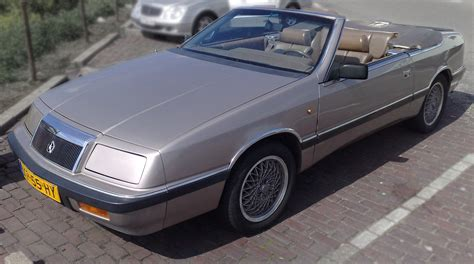 chrysler le baron cabrio chrysler le baron technical specifications and fuel economy