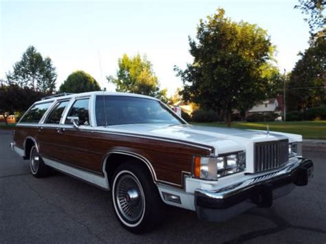 free car manuals to download 1986 mercury marquis engine control find used beautiful survivor 1986 mercury grand marquis colony park wagon 1 owner nice in