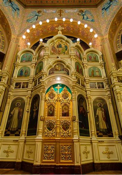 Orthodox Trinity Holy Russian Cathedral Architecture Buildings