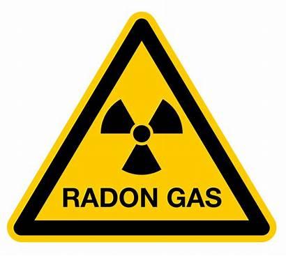 Radon Gas Warning Symbol Optimal