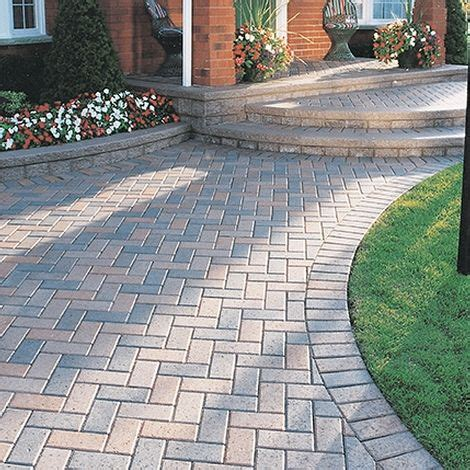 Installing Unilock Pavers - 25 best ideas about paver patterns on brick