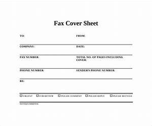 Sample General Fax Cover Sheet Professional Fax Cover