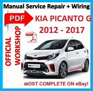 Official Workshop Manual Service Repair For Kia Picanto