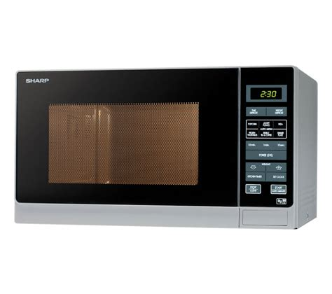 buy sharp r372slm compact microwave silver m