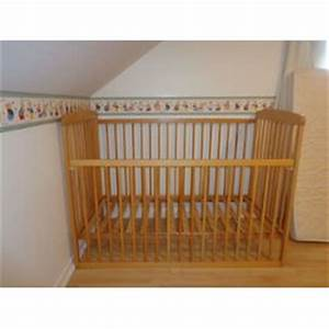 Lit Bebe Barreau : lit bebe barreaux bois visuel 6 ~ Premium-room.com Idées de Décoration