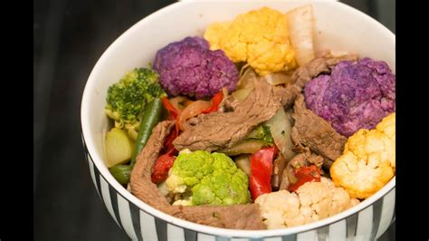 Slowly add this mixture to the chicken, stirring constantly. Beef Stir Fry   Diabetes-Friendly Recipe   Blue Meals ...