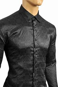 Mens Designer Clothes   VERSACE Men's Dress Shirt #148
