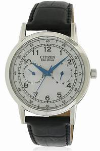 Citizen Eco-Drive Leather Mens Watch AO9000-06B | JacobTime