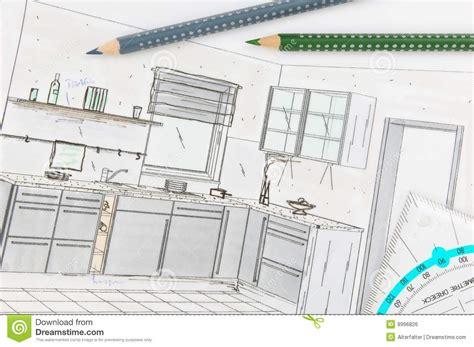 planification cuisine planification de cuisine image libre de droits image