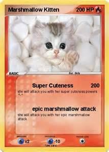 Pokemon Marshmallow Kitten