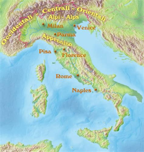 mountain range between and italy italian geography map facts and climate geography map and ancestry