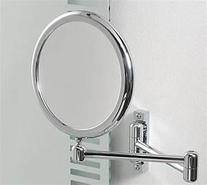les miroirs pour la salle de bains With miroir grossissant mural salle de bain