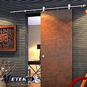Porte Interieur Pas Cher : pas cher en acier inoxydable int rieur syst me de porte ~ Nature-et-papiers.com Idées de Décoration