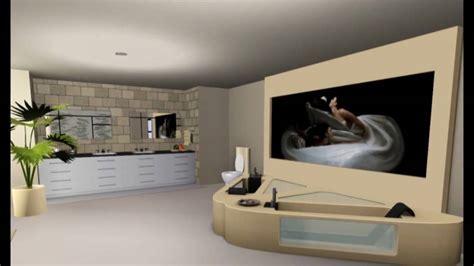 Sims 3 House Design (modern) - YouTube