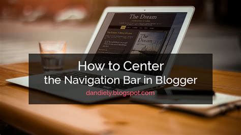 centered navigation bar template how to center the navigation bar in dandiely