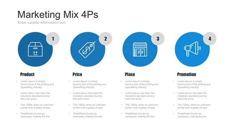 marketing mix powerpoint template  sitemax graphicriver