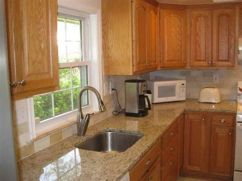 countertop colors for light oak cabinets marble countertops with honey oak cabinets google search
