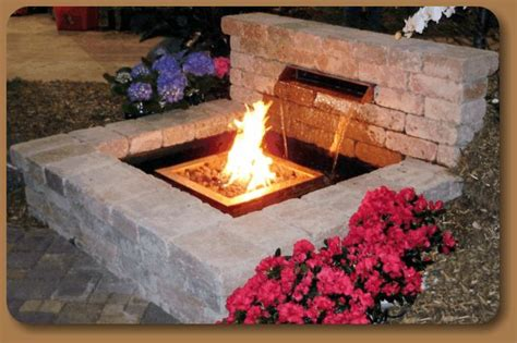 fire  water feature outdoor fire  water outdoor