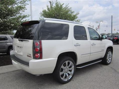 small engine maintenance and repair 2011 gmc yukon xl 2500 seat position control find used 2011 gmc yukon denali in 9295 east 131st street fishers indiana united states for