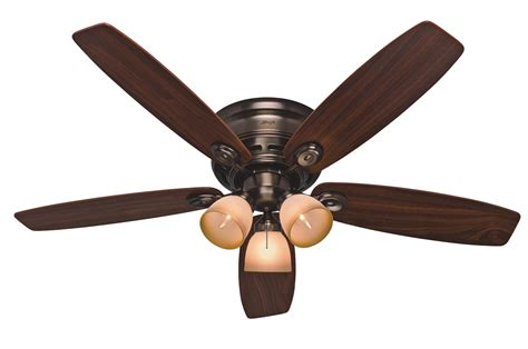 Hunter 52 Low Profile Iv Plus Ceiling Fan 23908 In