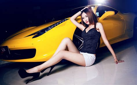 Model Car Asian Wallpapers Hd / Desktop And Mobile Backgrounds