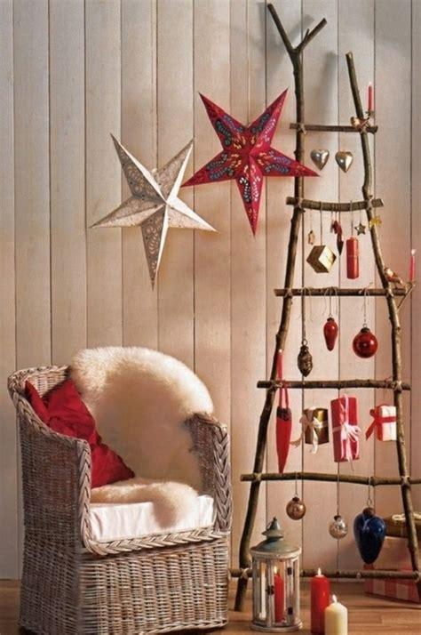 Weihnachtsdekoration Selber Machen Mit Kindern by Weihnachtsbaum Basteln Aus Naturholz Mit 3d Papiersternen