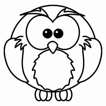 Coloring Birds Pages Simple Children