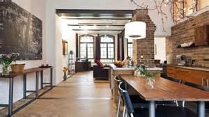 loft küche stilvolle ferienwohnungen steinhaus und loft