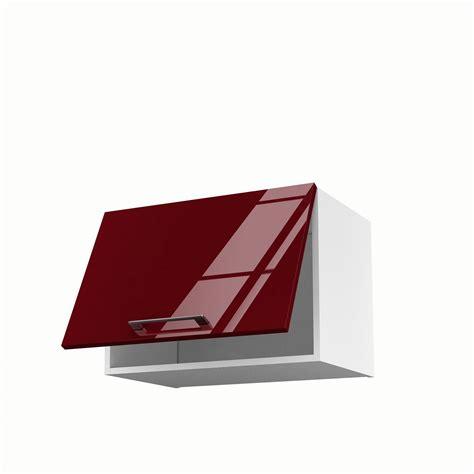 meubles de cuisine haut meuble de cuisine haut sur hotte 1 porte griotte h