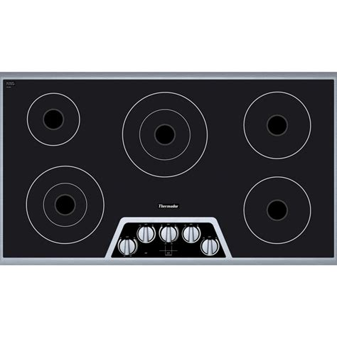 thermador cemfs  masterpiece electric cooktop ss