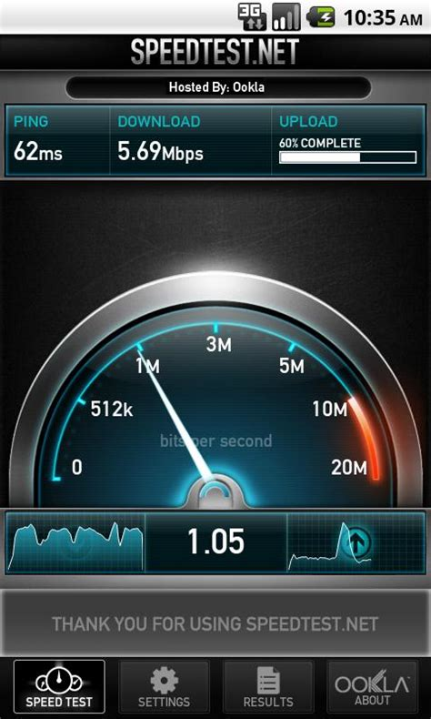 android speed test speedtest net mobile version 2 0 6 free apps