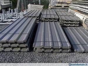 Tole Pour Toiture : t le profil e bacacier ondul plaque toiture bardage a ~ Premium-room.com Idées de Décoration