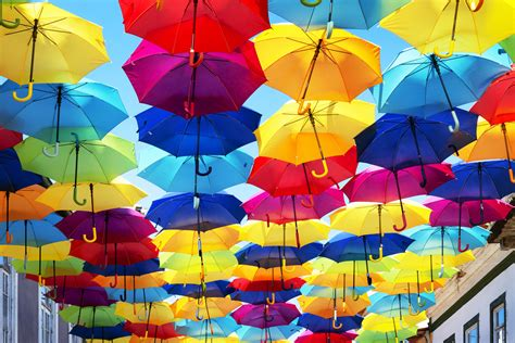 Exclusive Art Photography Colourful Umbrellas | Europosters