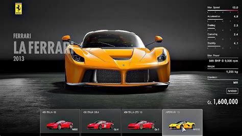 Gran Turismo Sport Car List gran turismo sport all cars car list