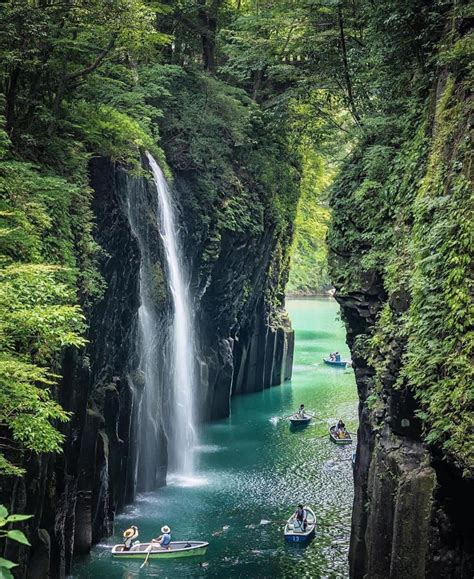 Manai Falls Takachiho Gorge Miyazaki Japan Beautiful