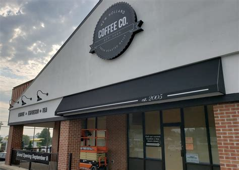holland coffee company storefront awning kreiders canvas service