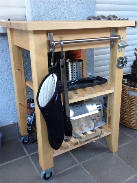 Serviertisch Ikea by Weber Grill Tisch Ikea Die Grillsation Ikea Hack Weber