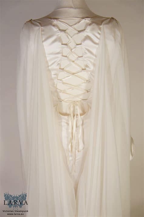 gwilwileth elven wedding gown larva historical