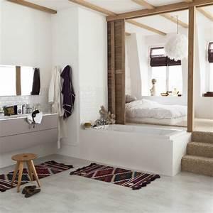 amenager une salle de bain dans votre chambre With salle de bain ouverte dans chambre