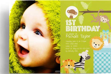 kids birthday invitation templates psd vector eps