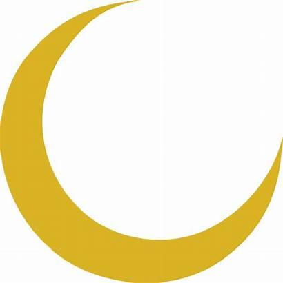 Moon Crescent Vector Clip Clipart Transparent Svg